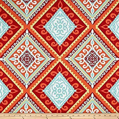 Amazon Com Tempro Fabrics 0517206 Terrasol Outdoor Spanish Tile