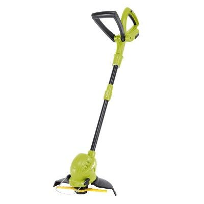 Sun Joe 24v Sb10 Ct 24 Volt Ion Cordless Sharperblade Stringless Lawn Trimmer 10 Inch Tool Only Lawn Tools Outdoor Power Equipment