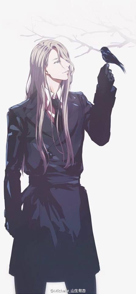 Pin By Diana Sung On Kawaii Anime Guy Long Hair Anime Yuri On Ice