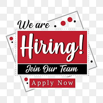 We Are Hiring Vector Background Design Template We Are Hiring Png Images We Are Hiring Vector Were Hiring Png Png And Vector With Transparent Background For We Are Hiring Background