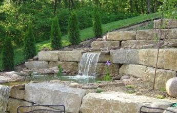 45 Economic Pond Retaining Wall Ideas Water Feature Wall Pond