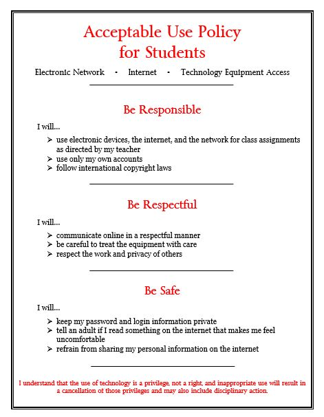 Iredell-Statesville Schools Network/Internet Acceptable Use Policy  Agreement for