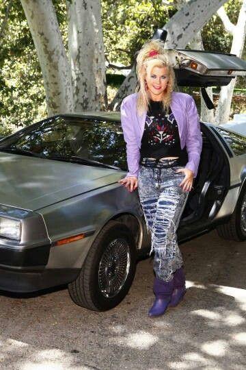 Photo of Alison Sweeney  - car