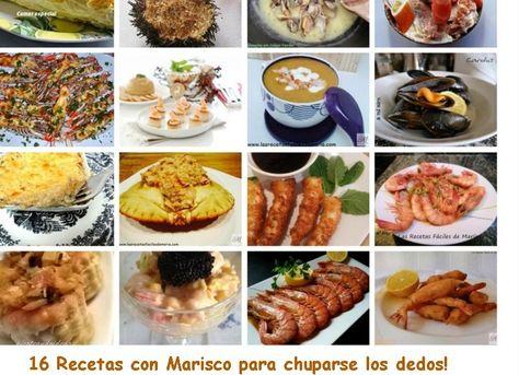 16 Recetas Con Marisco Para Chuparse Los Dedos Mariscos
