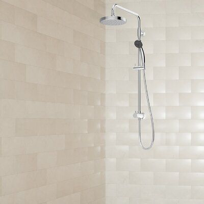 Symmons Dia Complete Shower System In 2020 Shower Panels Tub