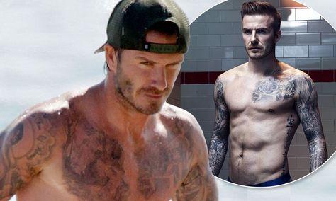 David Beckham Flashes Bare ChestOh, and That New Harper