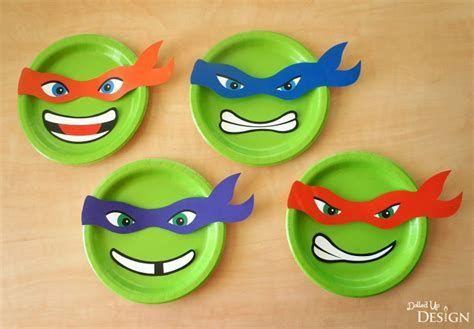 Bildergebnis Für Ninja Turtle Template Printable Diy Basteln
