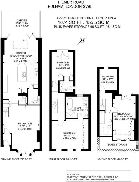Fulham Extension Better Arrangement Esp If Utility Has Its Own Rooflight Whcih It M House Extension Design Terraced House Loft Conversion Bedroom Floor Plans