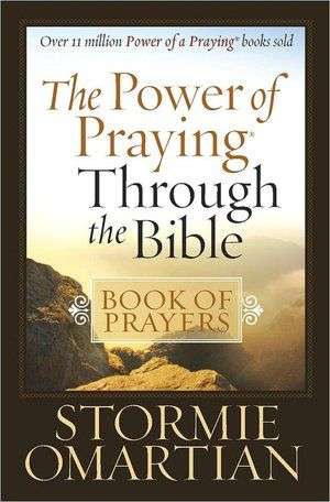 tormie Omartian, the bestselling author of the Power of a Praying series, has inspired millions of men, women, and families with her prayers and reflective writing. Now she journeys with readers from Genesis to Revelation and reveals how God designed prayer so that they can communicate with Him embrace the promises of Scripture release burdens to God's care walk with Jesus daily listen to the Spirit's leading Stormie brings home the truths and the wonder of God's promises. I RECOMMEND HER BOOKS