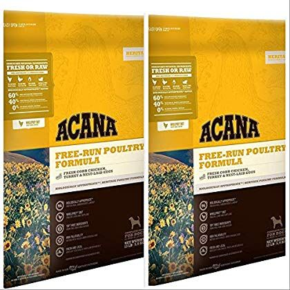 Acana Free Run Poultry Formula Dry Dog Food 13 Lbs 2 Pack 26