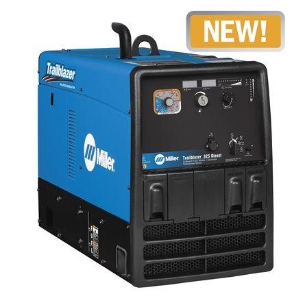 Trailblazer 325 Millerwelds Welder Generator Fuel Efficient