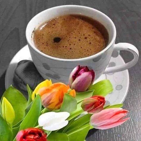 Imagini Cu Flori Si Cafea