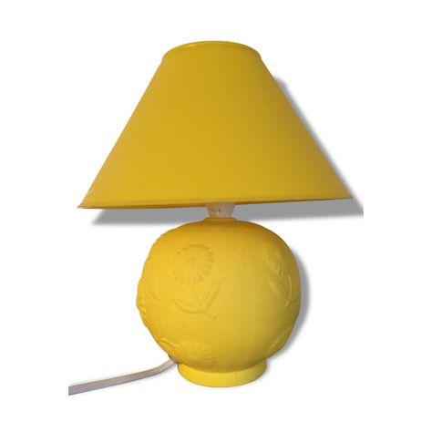 Lampe De Chevet Jaune Citron Vendu Par Brok Trok Ris