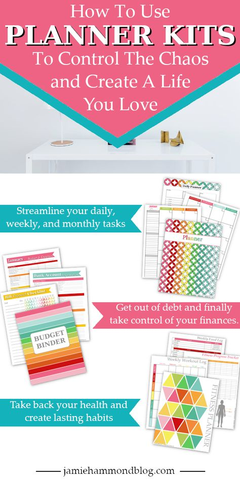 How to use planner kits to organize your whole life