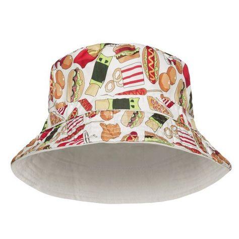Fast Food Print Bucket Hat  ec7930d2cf6