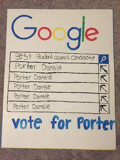 Student council poster  Google poster    Princess   Student council