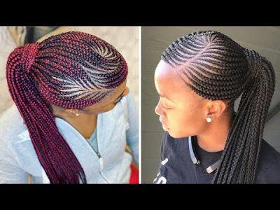 2020 Ghana Braids Hairstyles Stunning Hairstyles For Black Women Ghana Braids Hairstyles Ghana Braids Hair Styles