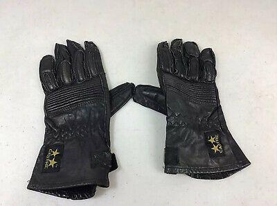 Castre Vintage Leather Motorcycle Gloves Men S Medium Ebay Leather Motorcycle Gloves Mens Gloves Motorcycle Gloves