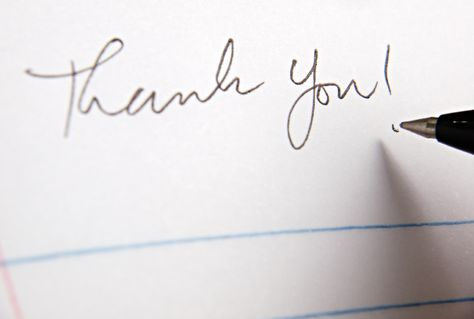 This sample interview thank-you letter shows how you can seal the - thank you for interview note