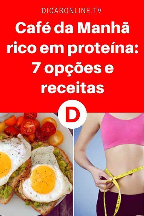 Cafe Da Manha Rico Em Proteina 7 Opcoes E Receitas Cafe Da