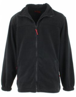 Veste polaire noir, grande taille : de 2 à 10XL. de la