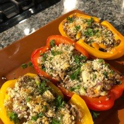 Stuffed Peppers With Tuna Recipe Stuffed Peppers How To Cook Rice Stuffed Peppers With Rice