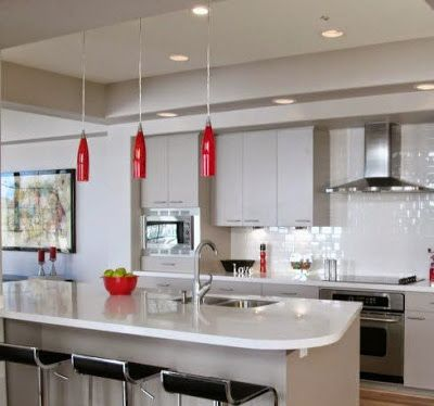 kitchen ceiling lights. LED Kitchen ceiling lights  http www recessedlightinglayout com 2016 10 led kitchen fixtures html Lighting Pinterest Led