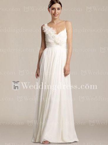 J Crew Wedding Gowns Floor Length Vneck Beach Dress Bc