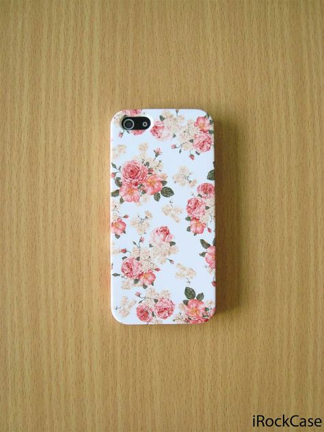 Vintage Roses Garden Phone Case Vintage Floral iPhone by iRockCase