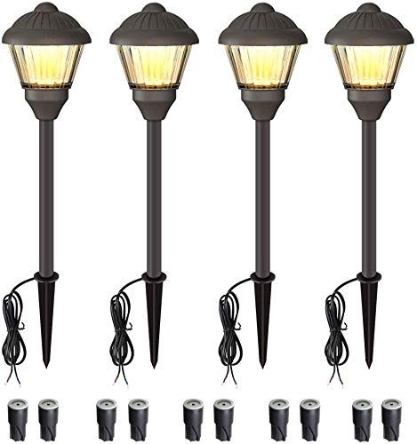 Amazing Offer On Volisun Low Voltage Landscape Lights Electric 12v Waterproof Outdoor Lights Warm White Led Yard Light Decor Garden Led Pathway Lighting Lawn P In 2020 Outside Lamps Outdoor Lighting