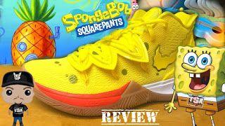 Spongebob Squarepants Nike Kyrie 5 Sneaker (Detailed Look + ...