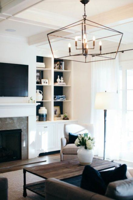 49 Ideas Ceiling Lighting Living Room Chandelier Chandelier In Living Room Ceiling Lights Living Room Family Room Lighting