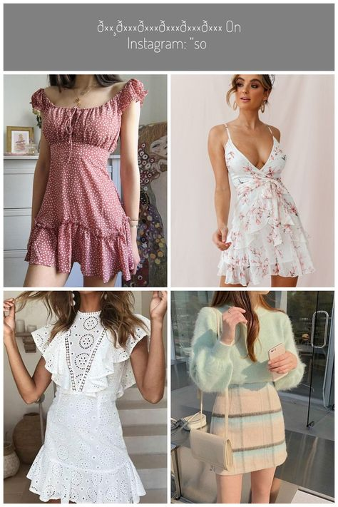 """𝕸𝖆𝖗𝖎𝖓𝖆 on Instagram: """"So in love with these dresses 🌷what's your favorite? 1 or 2 ?! 🍦🍒 @hellomolly  #HelloMolly"""" #girly dresses 𝕸𝖆𝖗𝖎𝖓𝖆 on Instagram: """"So in love with these dresses 🌷what's your favorite? 1 or 2 ?! 🍦🍒 @hellomolly  #HelloMolly"""""""