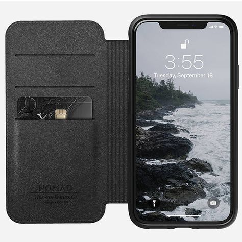 Nomad Rugged Folio Iphone Xr Leather Case Apple Gadgets