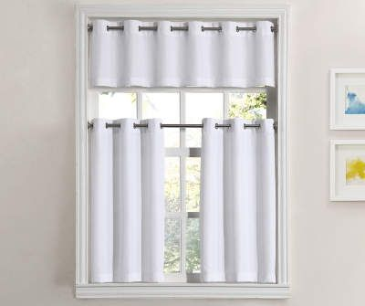 Save On Blinds Curtains Window Treatments Big Lots In 2020 Kitchen Curtains Simple House Valance