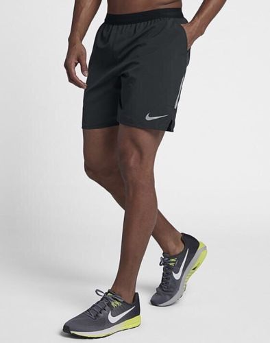 84f62b67a16f9 Nike Men's Flex Distance 7'' Running Shorts NEW 892911 010 Black ...