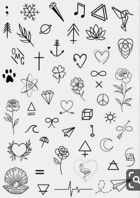 Minimalist tattoo designs