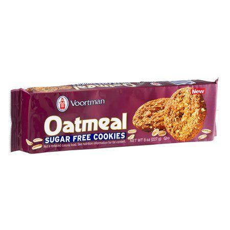Buy Voortman Sugar Free Oatmeal Cookies 8 Oz At Walmart Com Sugar Free Oatmeal Cookies Sugar Free Cookies Sugar Free Oatmeal