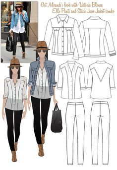 54a439dd6b6 How cool are these sewing pattern ideas  Would love to make an entire  handmade wardrobe