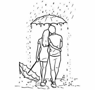 El Amor Va Mucho Mas Alla De Un Fisico Dibujos De Amor De Pareja Bocetos De Amor Ilustracion Del Amor