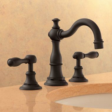 Victoria Two Handle Widespread Bathroom Faucet With Drain With