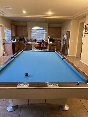 Advertisement Ebay Brunswick Pool Table 10 Ft Brunswick Pool Tables Indoor Games Pool Table