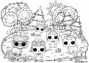Pin By Ninotchika Veruska Chong De Ve On Lol And Miniatures Easter Coloring Pages Bunny Coloring Pages Coloring Pages