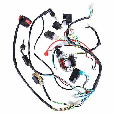 wiring harness kit for atv ebay advertisement  50 70 90 110cc cdi wiring harness assembly  70 90 110cc cdi wiring harness assembly