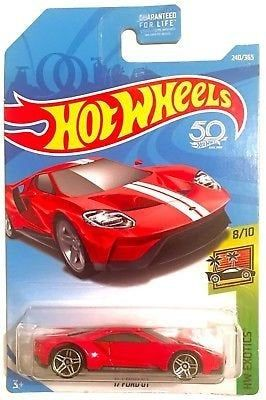 Hot Wheels 50th Anniversary 17 Ford Gt With Images Hot Wheels