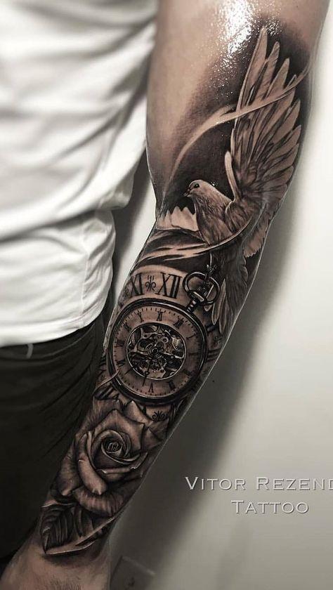 Männer tattoos arm 100 Inner