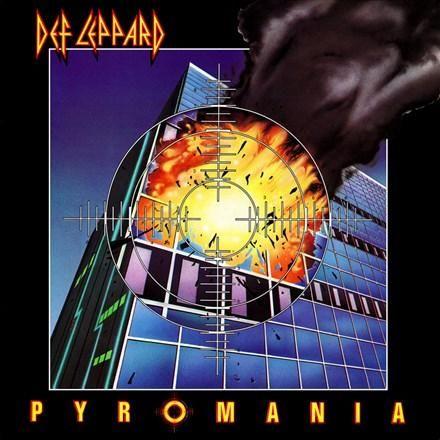 Def Leppard Pyromania Colored 180g Vinyl Lp Rock Album Covers Def Leppard Pyromania 80s Album Covers