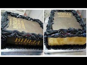 Bolo Biblia Sagrada Carina Moreira Youtube Com Imagens