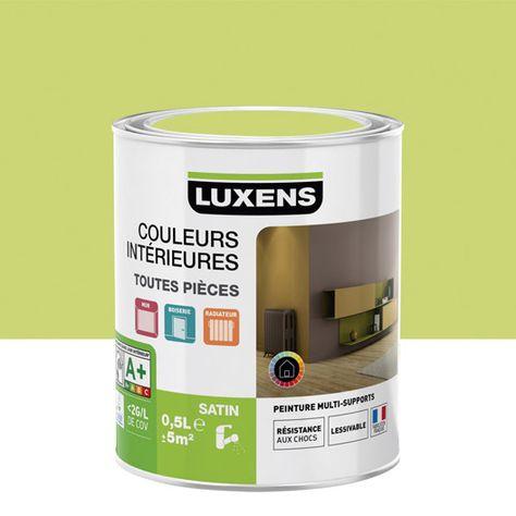 Chambre Fille Peinture Luxens Vert Pistache N 5 Satin 0 5