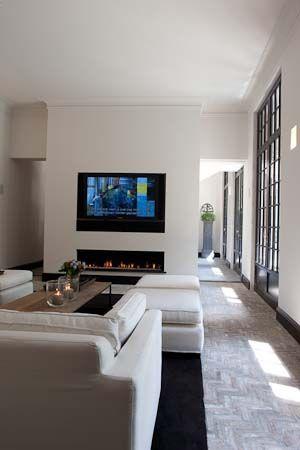 Hoogteverschil, tv/haard, deuren (vloer, maar niet in de woonkamer ...